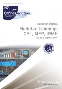 Modular Trainings CPL, MEP, IRME