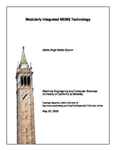 Modularly Integrated MEMS Technology