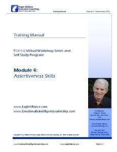 Module 4: Assertiveness Skills