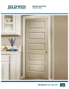 Molded and Flush Interior Doors