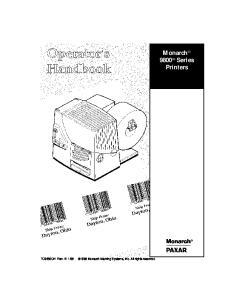 Monarch 9800 Series Printers