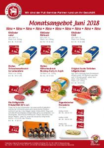 Monatsangebot Juni 2018
