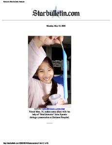 Monday, May 19, 2003