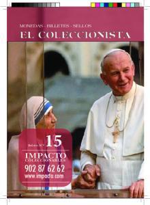 MONEDAS - BILLETES - SELLOS EL COLECCIONISTA. Boletín N º 15