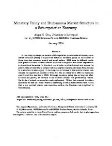 Monetary Policy and Endogenous Market Structure in a Schumpeterian Economy