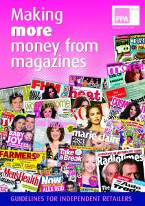 money from magazines