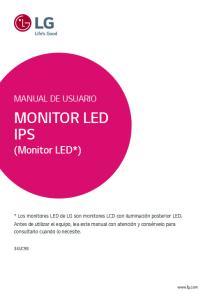 MONITOR LED IPS (Monitor LED*)