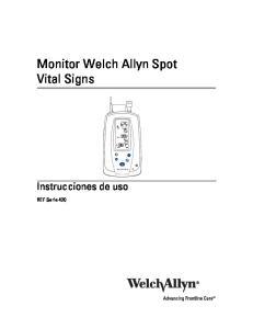 Monitor Welch Allyn Spot Vital Signs