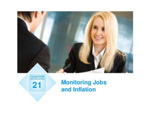 Monitoring Jobs and Inflation