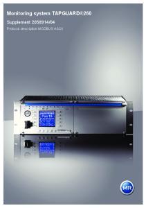 Monitoring system TAPGUARD 260