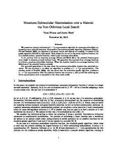 Monotone Submodular Maximization over a Matroid via Non-Oblivious Local Search