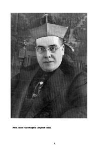 Mons. Salvio Huix Miralpeix, Obispo de Lleida