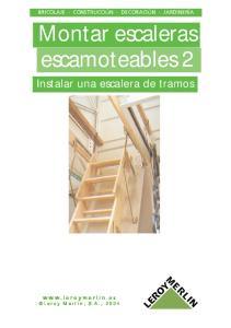 Montar escaleras escamoteables 2