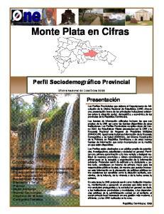 Monte Plata en Cifras