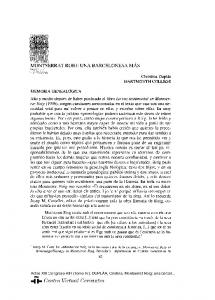MONTSERRAT ROIG: UNA BARCELONESA MAS