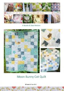 Moon Bunny Cot Quilt