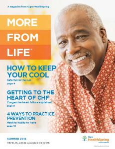 MORE FROM LIFE HOW TO KEEP YOUR COOL. GETTING TO THE HEART OF CHF Congestive heart failure explained