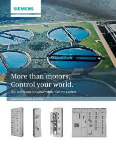More than motors. Control your world
