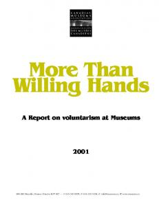 More Than Willing Hands