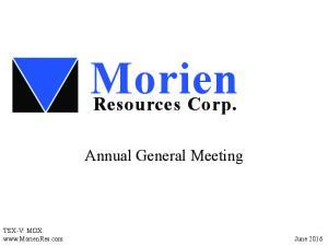 Morien Resources Corp