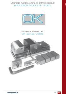 MORSE serie OK OK series VISES