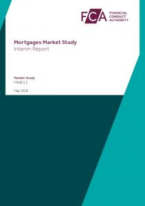 Mortgages Market Study Interim Report