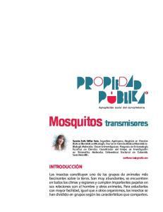 Mosquitos transmisores