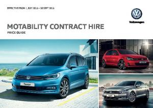MOTABILITY CONTRACT HIRE PRICE GUIDE