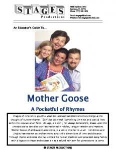 Mother Goose. A Pocketful of Rhymes