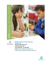 Mother Teresa Primary School, Westmead