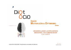 MOTIVACIÓN & OPTIMISMO