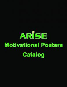 Motivational Posters Catalog