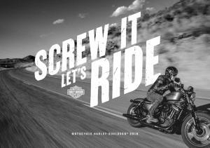 MOTOCYKLE HARLEY-DAVIDSON 2016