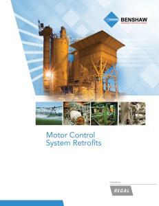 Motor Control System Retrofits