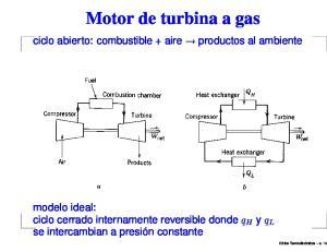 Motor de turbina a gas