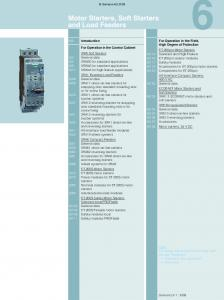Motor Starters, Soft Starters and Load Feeders