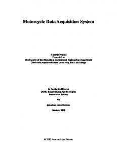 Motorcycle Data Acquisition System