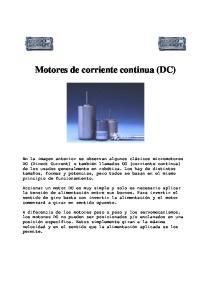 Motores de corriente continua (DC)