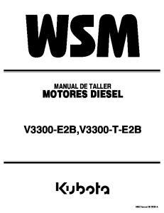 MOTORES DIESEL V3300-E2B,V3300-T-E2B