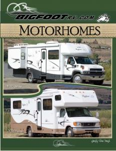 MOTORHOMES. simply the best Series Series