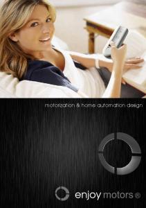 motorization & home automation design