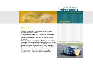 MOTORSPORT. Motorsport