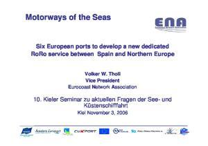 Motorways of the Seas