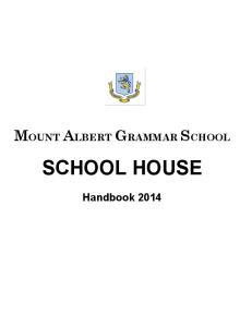 MOUNT ALBERT GRAMMAR SCHOOL SCHOOL HOUSE