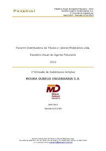 MOURA DUBEUX ENGENHARIA S.A