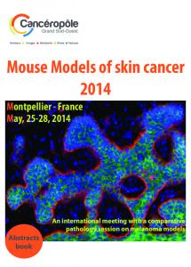Mouse Models of skin cancer 2014
