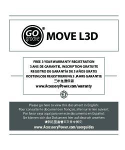 MOVE L3D