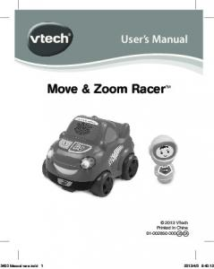 Move & Zoom Racer TM