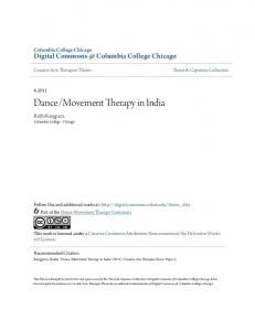 Movement Therapy in India