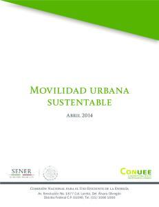 Movilidad urbana sustentable